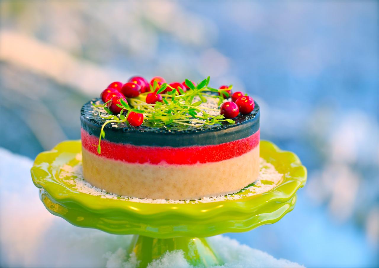 Olenkos Kitchen Blog Archive Olenkos Raw Vegan Christmas Cake